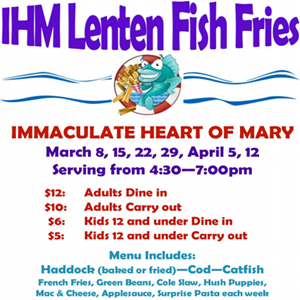 Lenten Fish Fries