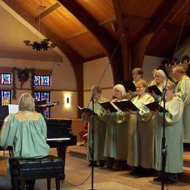 Friedens Peace UCC choir
