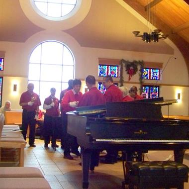 Emmaus Homes bell choir