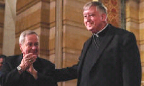 Pope Francis appoints Bishop Rozanski  as new archbishop of St. Louis