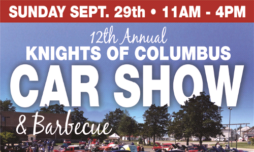 12th Annual KofC Car Show & BBQ
