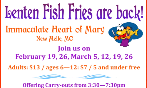 Lenten Fish Fries are Back!